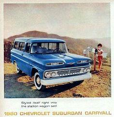 1960 Chevrolet Suburban carryall.