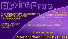 Buy High-Bright EL wire kits, from $0.98/ft., in 10 colors lowest prices at elwirepros.com