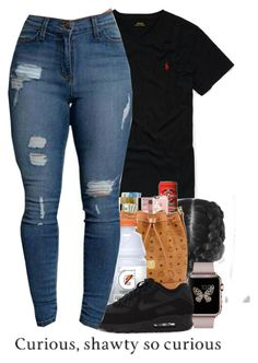 """""""TUUUH"""" by liveitup-167 ❤ liked on Polyvore featuring Ralph Lauren and NIKE"""