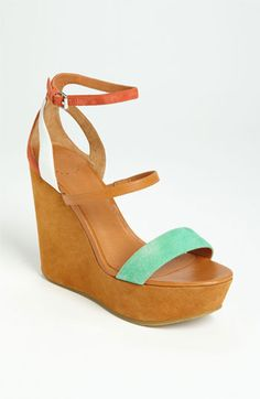 MARC BY MARC JACOBS Color Weave Wedge | Summmer #wedding shoe