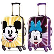 Take #DisneyLand wherever you travel with these awesome #RollingSuitcases.