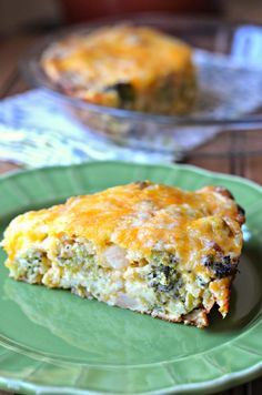 The Savvy Kitchen: Impossible Broccoli Pie