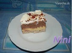 Monte (fotorecept) - recept | Varecha.sk Nutella, Tiramisu, Ethnic Recipes, Food, Basket, Eten, Tiramisu Cake, Meals, Diet