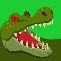 Custom Agar.io Skin Crocodile