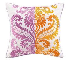Jennifer Paganelli Barcelona Amanda Linen Embroidery Pillow, 20 by 20-Inch, Pink by Jennifer Paganelli, http://www.amazon.com/dp/B009GSQUDS/ref=cm_sw_r_pi_dp_Krqpsb0P3ZXJT