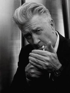 David Lynch by Karl Lagerfeld