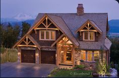"Timber Mountain Retreat | Front-Exterior Photo---I think this could be ""it""!!"