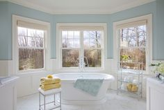 West Coast Hampton - traditional - bathroom - portland - by Garrison Hullinger Interior Design Inc.
