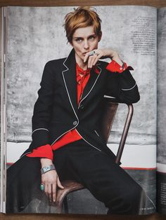 Vogue July 2015 Stella Tennant by Craig McDean (via Disneyrollergirl)