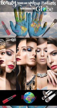 In this global issue, Barbie's Beauty Bits will share with you some of Beauty Trends & Makeup Products from Around the World!