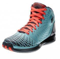Adidas Shoes Basketball Rose Adidas Men\u0027s Derrick D Rose Signature  Basketball Shoes-Light Blue/Poppy/Dark Gray Synthetic Lace-Up Closure  Sprintframe Flex ...