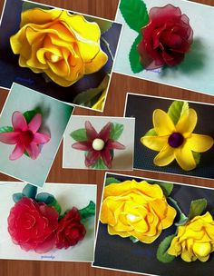 Other Flower Making, Paper Flowers, Artsy, Unique, Plants, Fabric, How To Make, Dream Come True, Facts