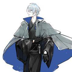 Twitter Touken Ranbu Kanesada, Touken Ranbu Nakigitsune, Reborn Katekyo Hitman, Hitman Reborn, Character Inspiration, Character Art, Character Design, Manga Art, Anime Art