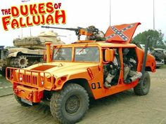 Funny Military Pictures: Dukes of Fallujah