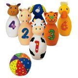 Earlyears Baby Farm Friends Bowling (Toy)By International Playthings