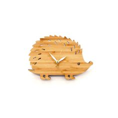 Hedgehog Clock Small. Lovely!