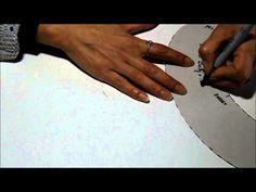 Clase 15 - TRAZADO DEL PATRON DE CUELLO BABY O PETER PAN - YouTube