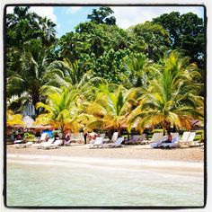 Sit back & relax at the beautiful #beaches of Couples Sans Souci Resort | #Jamaica
