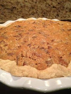 Thank God It's Pie-day: Texas Buttermilk Pecan Pie Delicous Desserts, Pecan Desserts, Pecan Recipes, Pie Recipes, Just Desserts, Baking Recipes, Dessert Recipes, Southern Buttermilk Pie, Buttermilk Recipes
