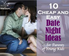 Ideas to help you make friendship a priority in your marriage!  10 Cheap and Easy Date Night Ideas