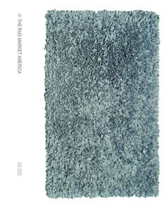 Add an element of distinction to your room when you decorate with this silver shag rug. Constructed of cotton jersey, this rug feels as soft as your favorite tee, and its innovative design and fun colors will provide you with superior comfort and...