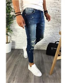 De vanzare for sale small price best quality blue jeans perfect for your outfit blugi barbati perfect pentru tinuta ta men outfit 2018 trend dehaine.