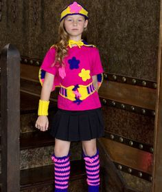 Caped Heroine with Leg Warmers FREE Crochet Pattern   Red Heart