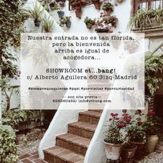 ven a visitar nuestro showroom en Madrid