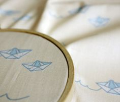 Paper Boats for Baby by Anda