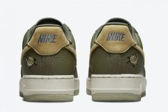 Buy Nike Air Force 1 Low Turtle Medium Olive DA8482-200-3 Air Force 1, Nike Air Force, Top Air, Tiny Turtle, Stuffed Shells, Baby Shoes, Pairs, Running, Medium