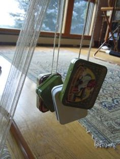Tip:  Weaving weft threads as warp threads using. Also great for adding supplemental warp threads.  Thanks to my Saori sister, Jill at Saori Santa Cruz, for this great tip!