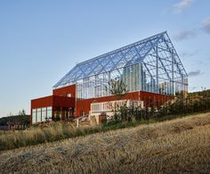 Sweden's house-in-a-greenhouse grows food sustainably with recycled wastewater Uppgrenna Naturehus by Tailor Made Arkitekter – Inhabitat - Sustainable Design Innovation, Eco Architecture, Green Building Home Greenhouse, Greenhouse Growing, Earthship, Sweden House, House In Nature, Eco Architecture, Eco Friendly House, Glass House, Green Building