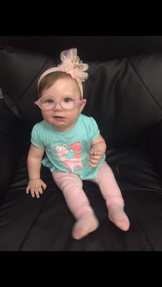 Click to vote for my daughter for Canada's cutest baby contest! $5,000 will buy a lot of baby glasses 🙈