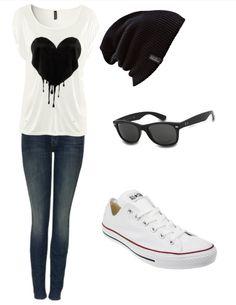 Cute skater style.(: