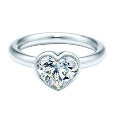 This romantic cut dates back to Louis XIV, who kept heart-shaped diamonds in his vast collection and Kirsten Dunst received one onscreen as Marie Antoinette. More recently, the style really began to shine in the early 20th century, when diamond-cutting techniques improved. 1-carat heart-shaped Bezet-set diamond in platinum, Tiffany & Co., $11,100.