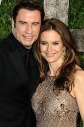 John Travolta Hit the Dancefloor At Madonna's Oscars Party