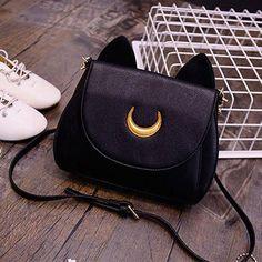 Sailor Moon Luna and Artemis Cat Moon Bag – Rebel Style Shop