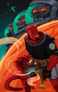 Hellboy by Guillem Serret