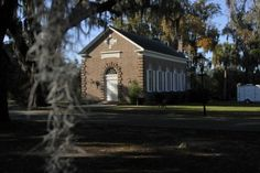 Whitefield Chapel at Bethesda Home for Boys in Savannah, Ga....Ceremony Site