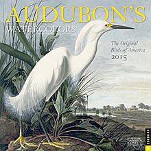 Audubon's Watercolors 2015 Wall Calendar