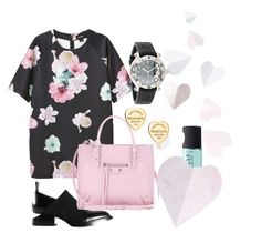 RelaxThurs! by delanie225 on Polyvore featuring polyvore, fashion, style, Monki, Alexander Wang, Balenciaga, Chopard, Tiffany & Co. and NARS Cosmetics