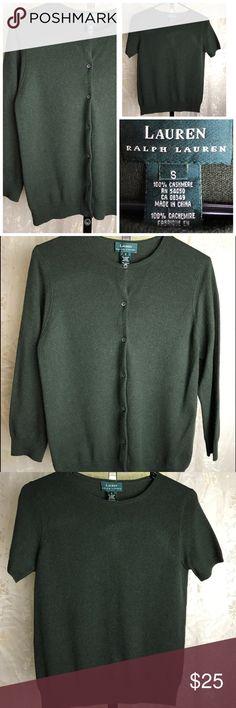 🌷AMAZING Ralph Lauren 100% cashmere cardigan/top Beautiful Ralph Lauren 100% cashmere Cardigan & top in great condition 😊❤in size S Ralph Lauren Sweaters Cardigans