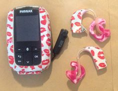 Hearing aids with matching radio aid! - Using Nail Foils