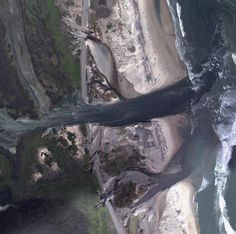 Dramatic Aerial Imagery of Irene's Destruction in Outer Banks