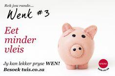Wegneemetes is duur en selfs teen vir 'n winkeltoebroodbroodjie kan jou week se. Lunch Ideas, Piggy Bank, Kos, Money Box, Money Bank, Aries, Savings Jar, Blackbird