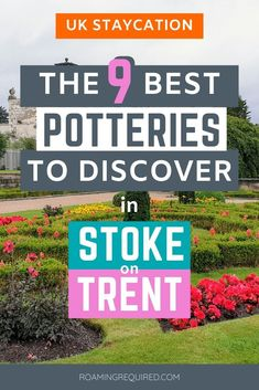 Spent your next weekend pottering about Stoke-on-Trent in Staffordshire to discover the famous Potteries including  Middleport Pottery, Burleigh, Emma Bridgewater, Gladstone Pottery Museum, Hands On Activities, Fun Activities, Travel Tips, Travel Articles, Travel Guides, Stuff To Do, Things To Do, Amazing Destinations, Travel Destinations