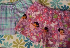 Play Shorts - Dora the Explorer - by MandEmDesign on Etsy