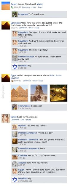 Facebook News Feed History of the World part 3