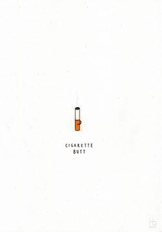 cigarette butt - jaco haasbroek