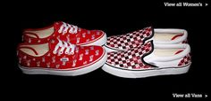 An image for http://www.soletrader.co.uk  Love me authentic Vans, Valentines day